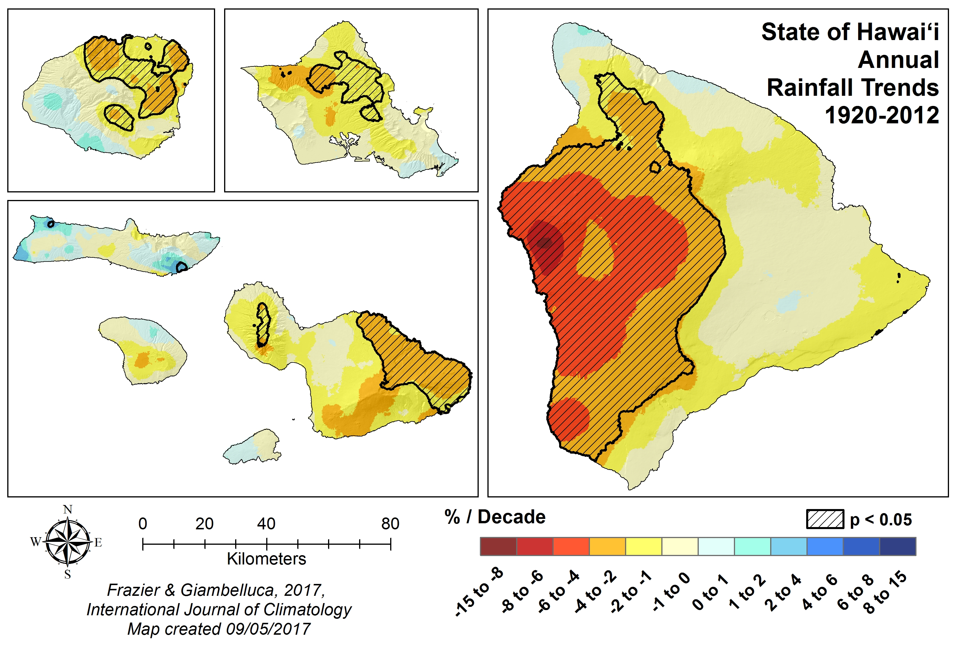 Rainfall Atlas of Hawaii | Rainfall